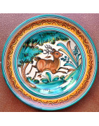 """Spanish ceramic """"Monteria"""" style"""