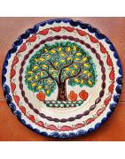 Multicolored Plates 28cm (11in.)